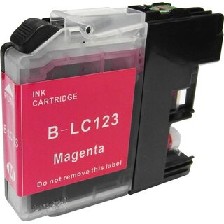Alternativ PATRONE Brother LC-123 Magenta