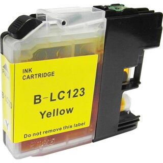 Alternativ PATRONE Brother LC-123 Yellow
