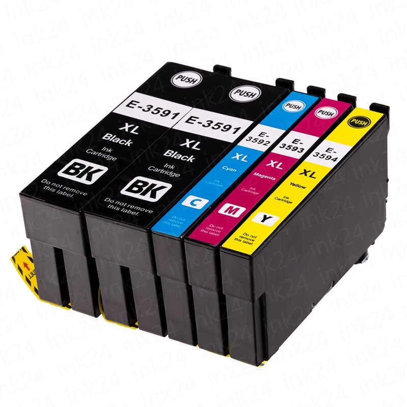 5 Alternativ PATRONEN Epson T3591 T3592 T3593 T3594 XL